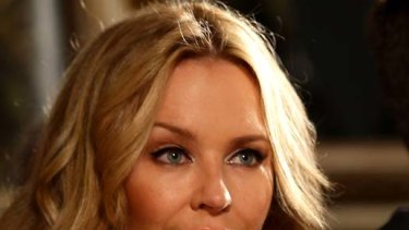 Kylie Minogue .. dropped to 26th in the list.