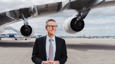 Sydney Airport CEO Geoff Culbert has suggested the recent boom in passenger traffic has peaked.