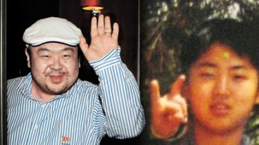 The bad boy and the good boy ... Kim Jogn-nam and Kim Jong-un.