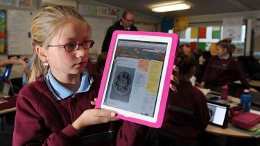 For Tyree Paterson and fellow year 6 students at Manor Lakes College, personal iPads open a window on digital learning.
