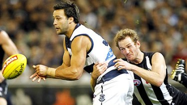 When the Cats put on a show, it's often Jimmy Bartel in the thick of the action.