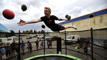 The success of Vuly Trampolines has been recognised via the Lord Mayor's Business Awards.