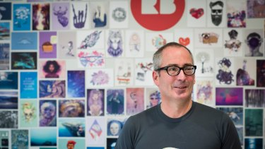 Redbubble CEO Martin Hosking has warned that the lack of safe harbour protection risks making it unviable for his company to remain in Australia rather than the US.