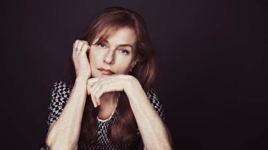 """I don't know what normal is"" … French actress Isabelle Huppert."