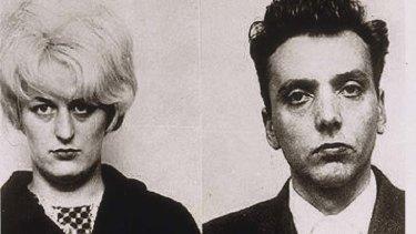 Moors murderers Myra Hindley and Ian Brady.