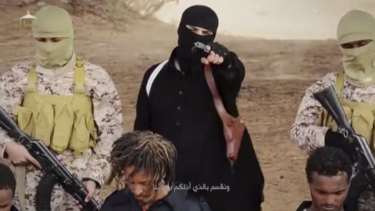 Australians are fearful of terrorism: An Islamic State militant.
