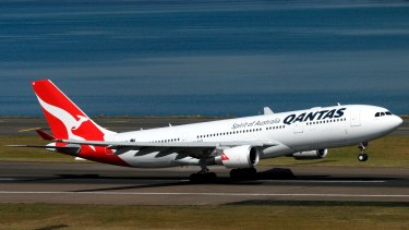 "Qantas sees its ""domestic business continuing to improve""."