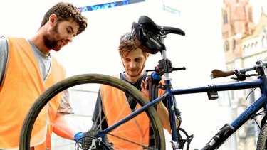 Good Cycles offers city's army of cyclists a way to keep their two wheels on the road.