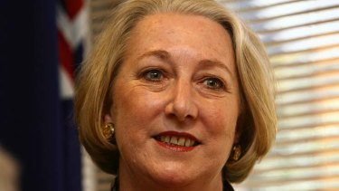 Retiring for health and family ... Liberal senator Sue Boyce.