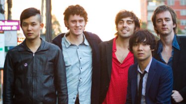 Biggest surprise ... Melbourne band Little Red.