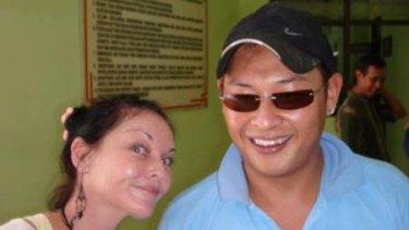 Fellow prisoners … Schapelle Corby and Australian death row inmate Andrew Chan, at Kerobokan prison, Bali, last week.