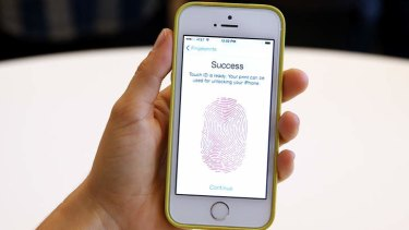 Touch this: The new iPhone 5S comes with with fingerprint-recognition technology.