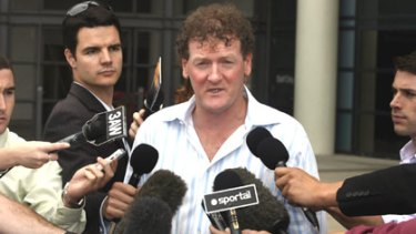 Police reportedly found Ricky Nixon at his home after the crash.