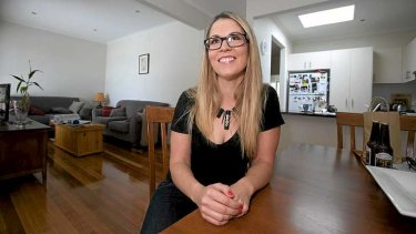 My Space: Angie Deegan at home. See the Case Study for more on her story.