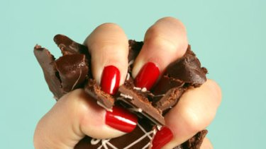 Crush cravings ... resist temptation by accepting it.
