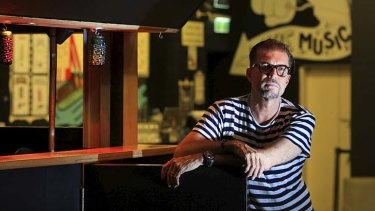 ''People should be able to enjoy themselves when they want to'': Oxford Art Factory boss Mark Gerber at the Darlinghurst venue.