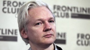 Julian Assange could face arrest if he steps out of the Ecuador embassy, where he has sought refuge.