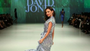 Split: Miranda Kerr won't be the face of David Jones.