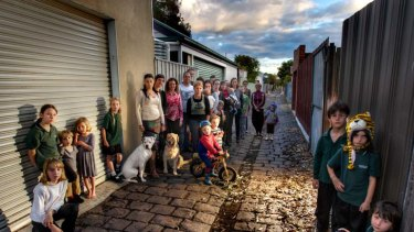 Brunswick residents are unhappy with council plans to pull up bluestone laneways and replace them with concrete ones.