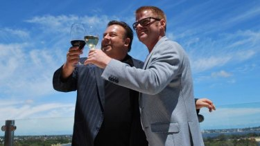 Cheers - Peter Gilmore and Heston Blumenthal rate WA produce highly.