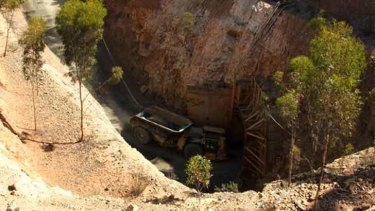 A mine in the Norseman Project, where a man died on Saturday.