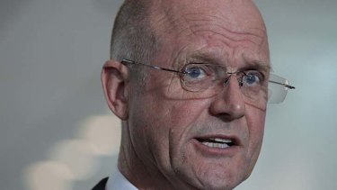 """""""They will see I am not going to give up on this"""": Senator David Leyonhjelm."""