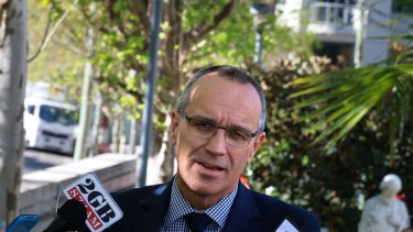 Transparency: Souths CEO John Lee.