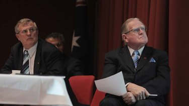 Supporters of Naltrexone ... George O'Neil and Fred Nile.