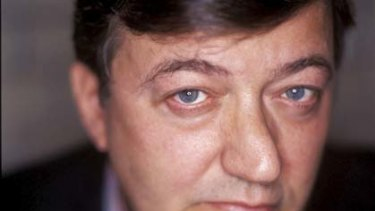 Wise and funny ... Stephen Fry.