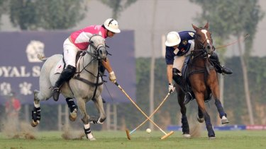 Mallet magic … polo, a game played in China as far back as the Tang dynasty, is making a huge comeback and attracting the country's nouveau riche.