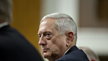 General James Mattis, secretary of defence nominee.