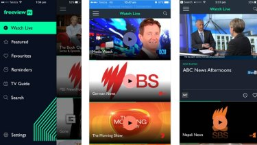 Hands on: Freeview FV streaming TV app