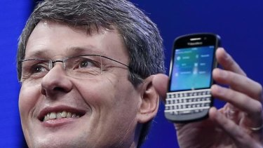 Blackberry CEO Thorsten Heins has announced he will step down as Fairfax Financial Holdings abandons its takeover bid.