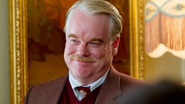 Philip Seymour Hoffman plays a charismatic cult leader in <i>The Master</i>.