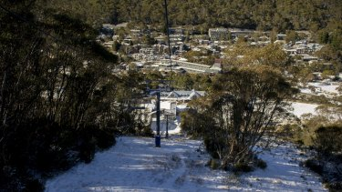 Thredbo Village to get another dusting.