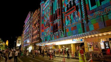 The joint Melbourne City Council and state government strategy aims to expand on night-time attractions in central Melbourne, such as the 2013 White Night Festival.