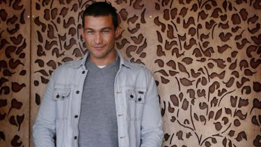 Loses fight with cancer ... actor Andy Whitfield dies in Sydney.