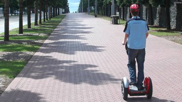 Segways will hit Queensland streets from Thursday.