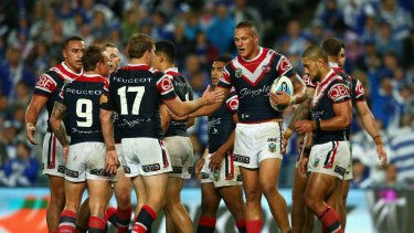 Matches between the Bulldogs and Roosters are often full of controversy.