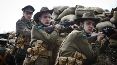 Artful: <i>Gallipoli</i> is an accomplished production but is failing to draw in viewers.