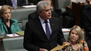 Ken Wyatt, pictured in Parliament last year, has expressed concerns to Coalition colleagues about possible changes to the Racial Discrimination Act.