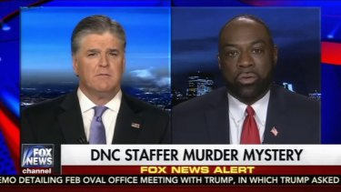Fox News contributor Rod Wheeler (right). There is no evidence that Seth Rich was a WikiLeaks source.