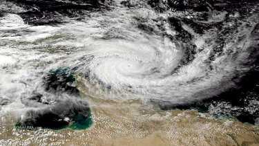 Cyclone Ita now a Category 5 storm.
