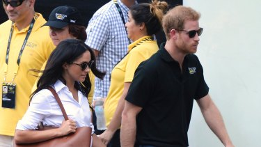 Meghan Markle, seen with Prince Harry, represents something fresh for the Royal family.