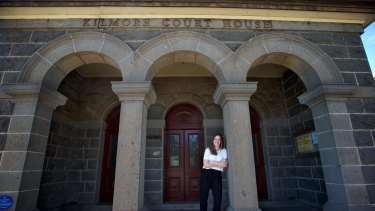 Stephanie Ryan, candidate for the Nationals in the seat of Euroa at this year's state election. Pictured here in Kilmore. 15th May 2014