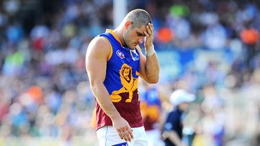 The Brisbane Lions have suspended Brendan Fevola indefinitely after he allegedly exposed himself to a mother of four.