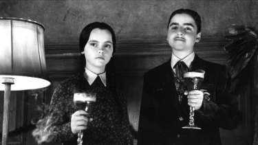 Cool ghoul: Christina Ricci as Wednesday in The Addams Family Values.