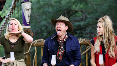 Keira Maguire, Carson Kressley and Tegan Martin on Ten's I'm A Celebrity... Get Me Out Of Here!