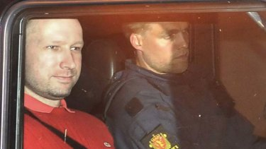 Facing trial ... Anders Behring Breivik