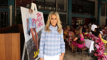 Full bloom: Roxy Jacenko at her book launch on Tuesday.